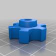 1dbf1bc6040883ab81f92f1589c3e0c2.png Télécharger fichier STL gratuit poignée pour les écrous et vis M6 • Objet imprimable en 3D, pgraaff