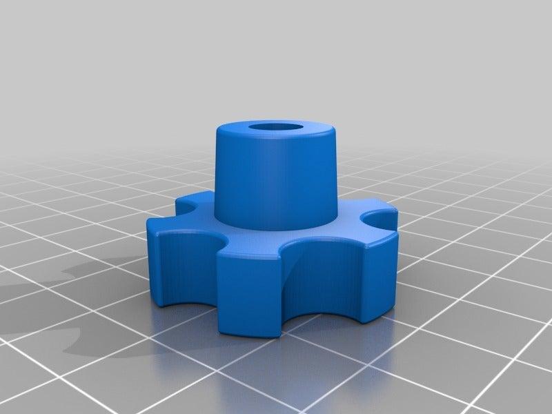 37b204b5fa429b6cf664b2341e5f8be7.png Télécharger fichier STL gratuit poignée pour les écrous et vis M6 • Objet imprimable en 3D, pgraaff