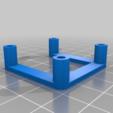 a27e6aee2490844afaae4b8693d02cb4.png Télécharger fichier SCAD gratuit espaceur NEMA 17 personnalisable • Modèle à imprimer en 3D, pgraaff