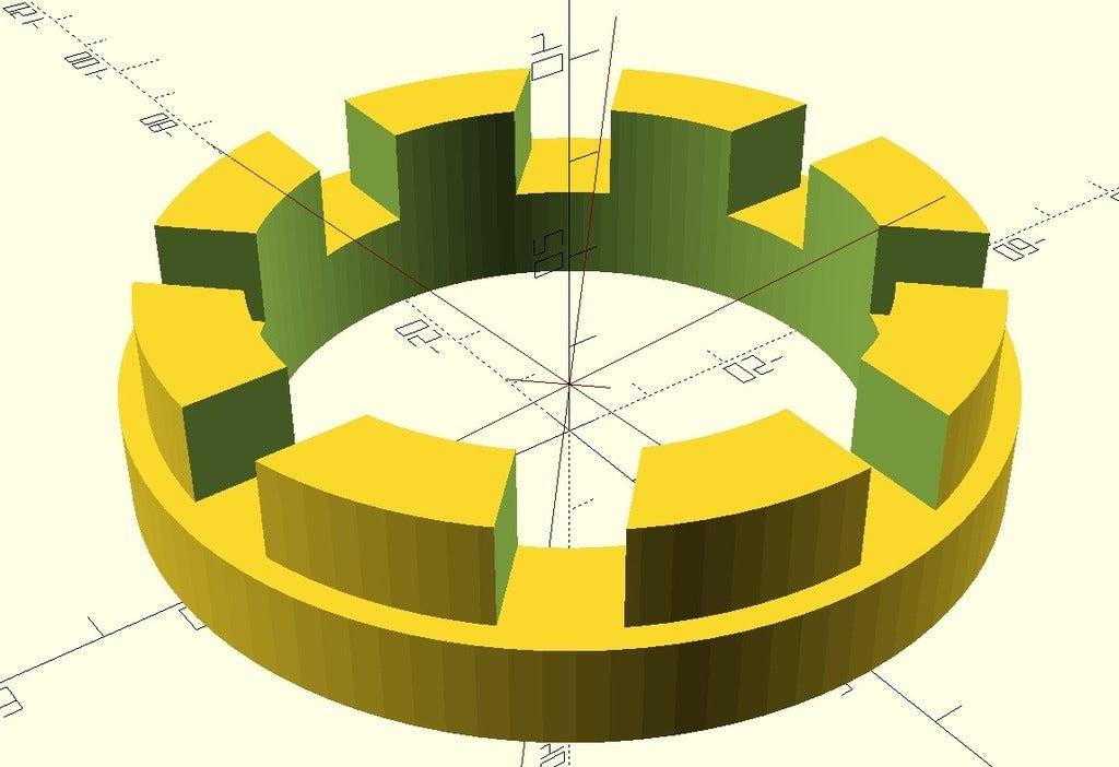 height_adjuster_V2.PNG Télécharger fichier SCAD gratuit réglage paramétrique de la hauteur personnalisable pour les planteurs d'orchidées V2 • Modèle à imprimer en 3D, pgraaff