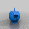 Download free STL file Resin pumpkin for battery tea light • 3D print design, pgraaff