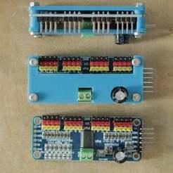 _MG_1011s.JPG Télécharger fichier STL gratuit protecteur pour servo-pilote adafruit 16 canaux pca9685 • Modèle à imprimer en 3D, pgraaff