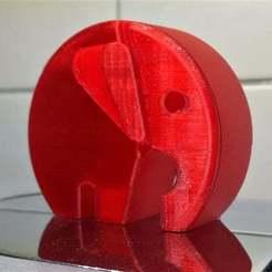 Télécharger fichier 3D gratuit Eléphant moderne danois avec des oreilles, pgraaff