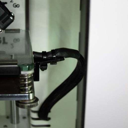 hotbed_holder_1.jpg Télécharger fichier STL gratuit Ultimaker 2 Go, porte-câble pour lit chauffant • Modèle à imprimer en 3D, pgraaff