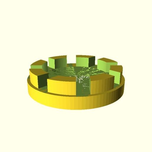 fb891a5b7496e392f8119f2ebd3c00aa.png Télécharger fichier SCAD gratuit réglage paramétrique de la hauteur personnalisable pour les planteurs d'orchidées V2 • Modèle à imprimer en 3D, pgraaff