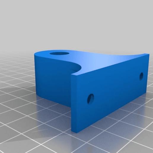 1ba66c23b0d3973191901c76f5faeadd.png Télécharger fichier STL gratuit Fixation de la base Geeetech I3 M201 • Plan pour imprimante 3D, pgraaff