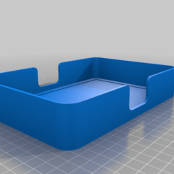 Download free 3D printing templates strong resin vat box, pgraaff
