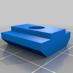 352a8d8dd08fdfcc1edb6cdf51ea6d91.png Download free STL file T nut for CNC 3018 • 3D printable object, pgraaff