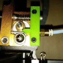 Télécharger fichier STL gratuit guide de filament flexible pour l'extrudeuse MK8 • Plan pour imprimante 3D, pgraaff