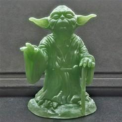 Télécharger fichier STL gratuit Yoda HD StarWars, pgraaff