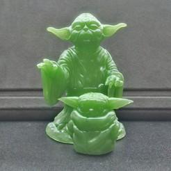 Télécharger objet 3D gratuit Yoda et l'enfant, pgraaff