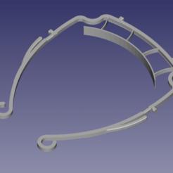 VisiereEric_v2-1.png Download free STL file Covid - Solidarity visor - Eric'3d • 3D printer template, Eric3D