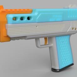 Capture.PNG Télécharger fichier STL gratuit FP-68D Night Snake Pistolet à double cage compact à double cage FTW pistolet à volant d'inertie à mousse • Objet imprimable en 3D, FreedomBlasters