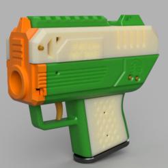 Capture.PNG Télécharger fichier STL gratuit FP-68S Twig Snake Pistolet à volant d'inertie FTW extra-compacte à jet de mousse • Modèle pour impression 3D, FreedomBlasters