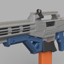 Descargar diseños 3D gratis FCR-22 Fusil de Asalto Taipan FTW+Blaster de espuma de alto rendimiento regular, FreedomBlasters