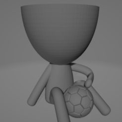 Captura.PNG Download STL file Robert Plant Football • 3D printer object, fedegil69