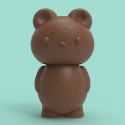 Download 3D print files Teddy Bear, GtoysLAB