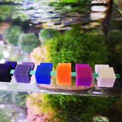 IMG_20190711_095817.jpg Télécharger fichier STL Porte-verre pour aquarium (réservoir) • Objet à imprimer en 3D, Made_By_3D