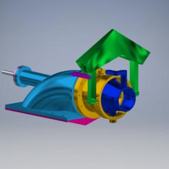 Download STL Water jet propulsion 60mm/Водометный движитель 60мм!, MaKs