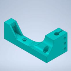 держатель валов.png Download free STL file Linear Rail Shaft Guide 10mm/Направляющая линейного рельса Вал 10мм • Model to 3D print, MaKs