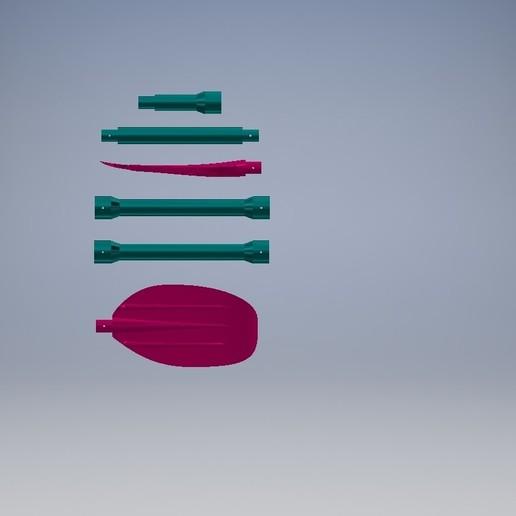 3333333.jpg Download free STL file Paddle/Весло • 3D printing design, MaKs