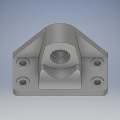 Download free 3D printer files Lead_screw_holder_M8, MaKs