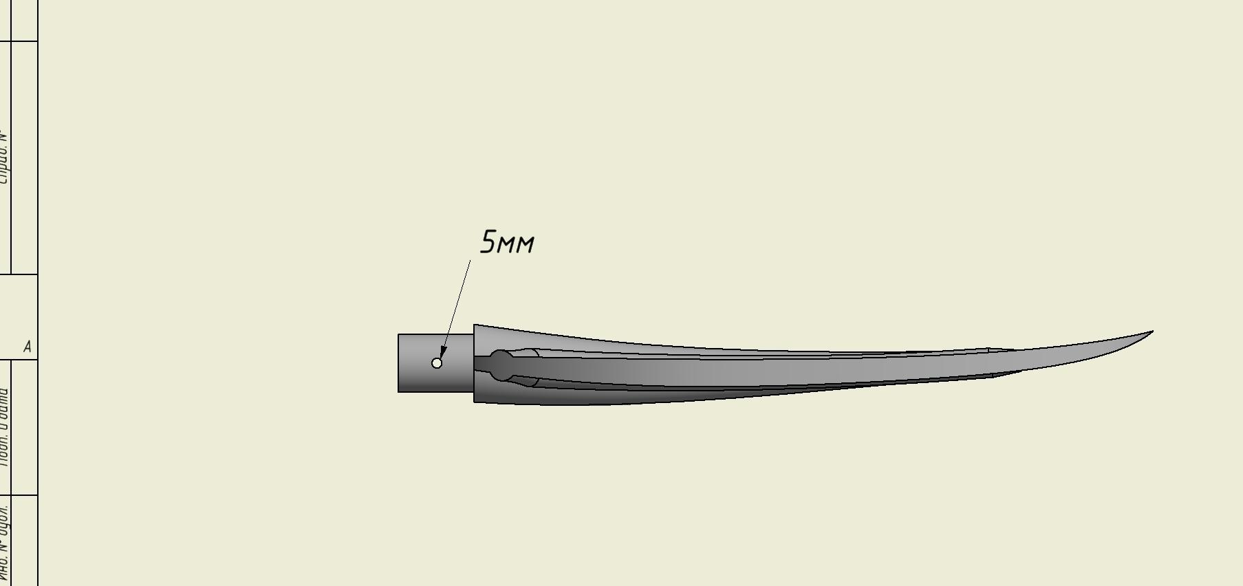 4444.jpg Download free STL file Paddle/Весло • 3D printing design, MaKs