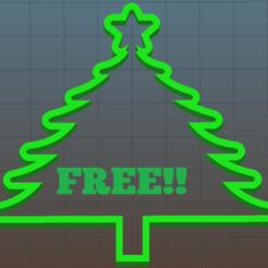 Impresiones 3D gratis arbol navidad, julianrodr