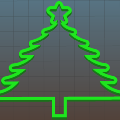 Download 3D printing templates christmas tree, julianrodr