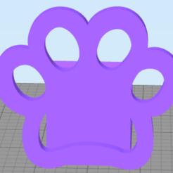 demo porta celu.png Download STL file Paw dog cell phone holder • 3D print template, JMR3D