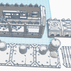 RatsNest.png Download free STL file 28mm Custom Dinner  • 3D printable model, lizzz3ard2