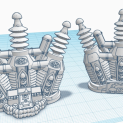 Power Coil Linesight.png Download free STL file 28mm Line of Sight Coil'sofPower • 3D printer template, lizzz3ard2