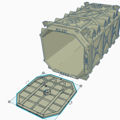 Download free STL file 28MM Gothic Contain  • 3D printable object, lizzz3ard2