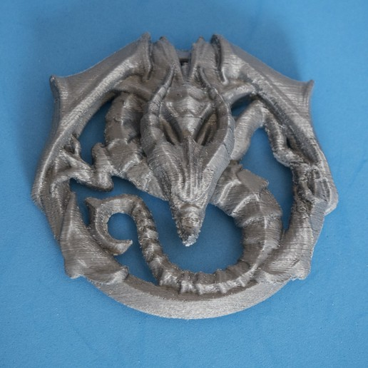 ZZZ30083.jpg Download free STL file Dragon Talisman from Castlevania 2 • 3D printable template, dancingchicken
