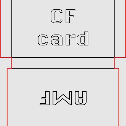 a1d7021138b9415cd06a8f56e7d62813.png Download free STL file Lasercut EVA foam CF Card sleeve + gluing jig • 3D printing template, dancingchicken