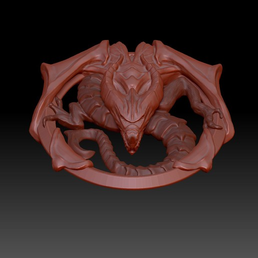 Captura_de_pantalla_2018-05-05_a_las_18.32.27.jpg Download free STL file Dragon Talisman from Castlevania 2 • 3D printable template, dancingchicken