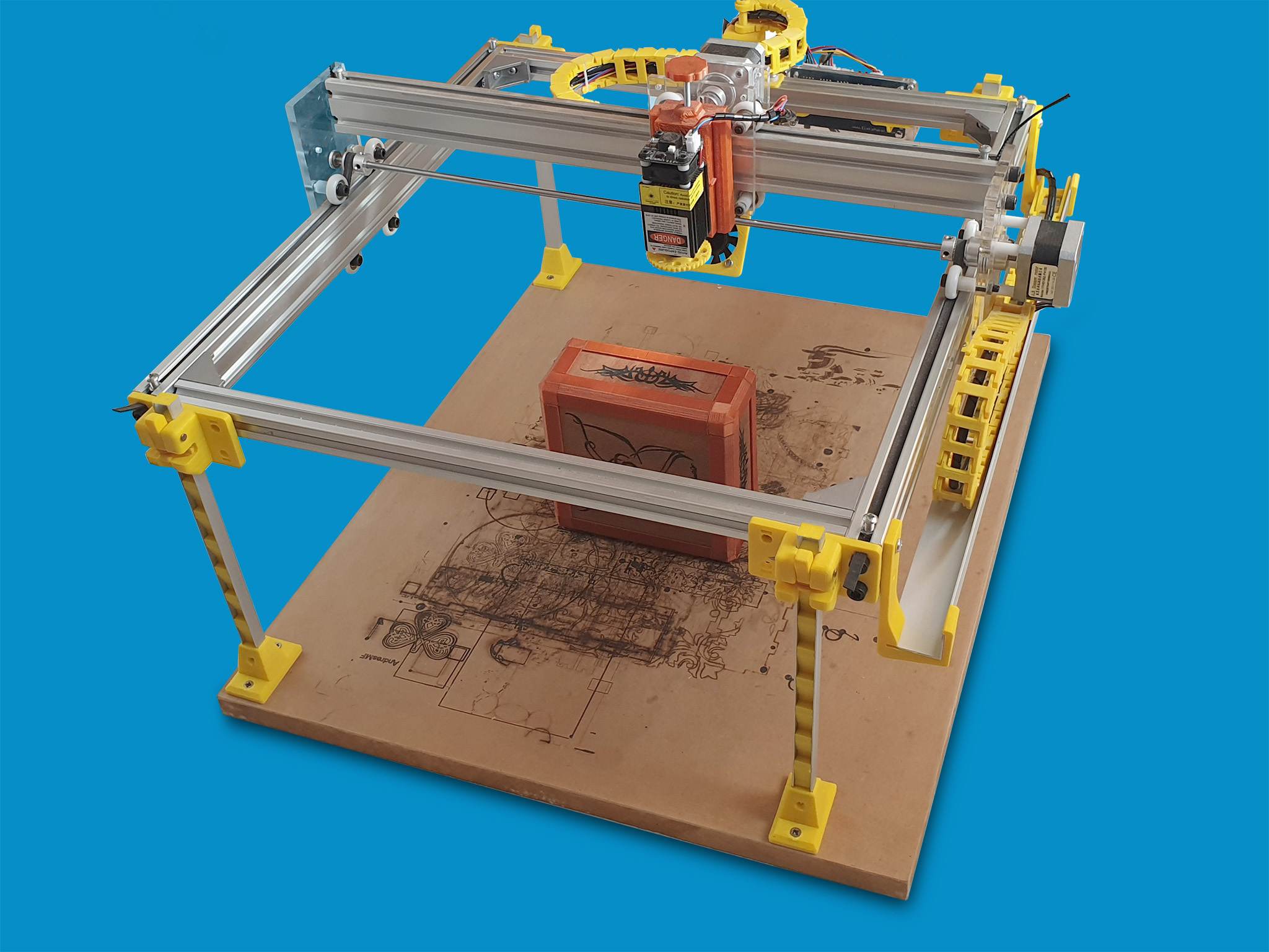 Foto1.jpg Download free STL file Laser Lifting Feet • 3D printing template, dancingchicken