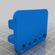 Download free STL files Laser Tool Holder for 20x20 extrusion, dancingchicken