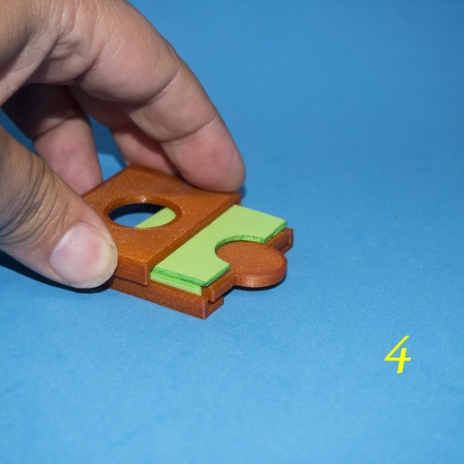 5.jpg Download free STL file Lasercut EVA foam CF Card sleeve + gluing jig • 3D printing template, dancingchicken