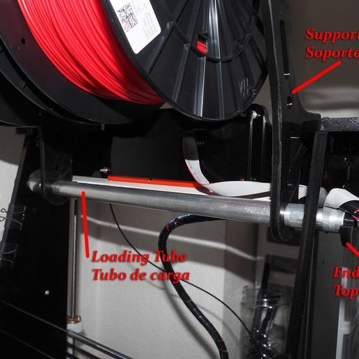 AMF00315_copia.jpg Télécharger fichier STL gratuit Un fort détenteur de 4 bobines • Design pour impression 3D, dancingchicken