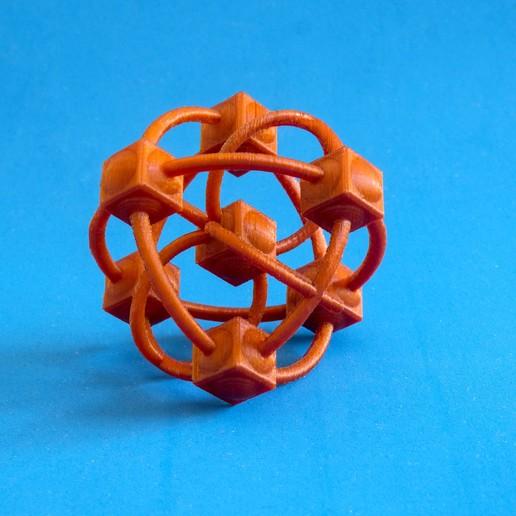 Download free 3D printer files The captive Atom, dancingchicken