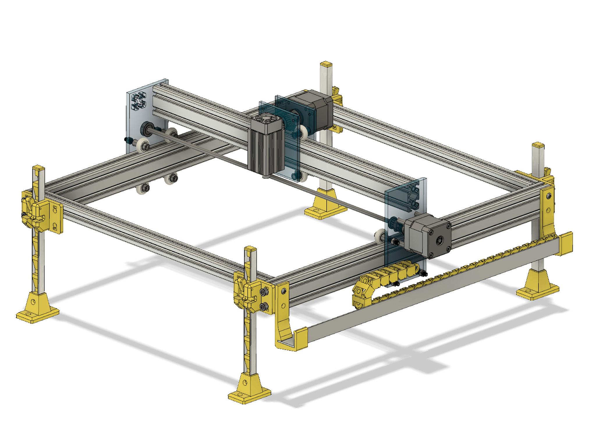 Foto6.jpg Download free STL file Laser Lifting Feet • 3D printing template, dancingchicken