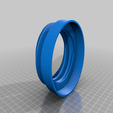Download free STL file K40 laser exhaust hose flange • 3D print model, dancingchicken