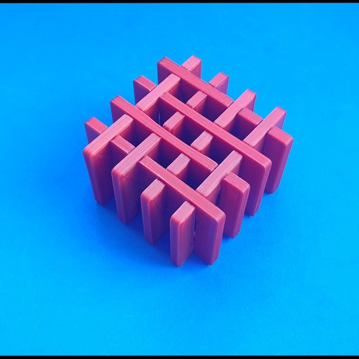 Download free 3D printing designs The lattice puzzle, dancingchicken