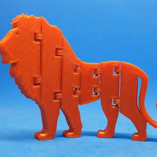 Download free STL file Flexi Lion King, dancingchicken