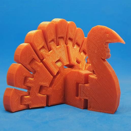 Download free 3D printer files Flexi Turkey, dancingchicken