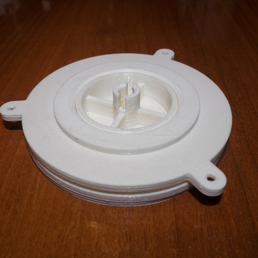 AMF00015-LR_Fin.jpg Download free STL file Motorized TurnTable with microwave motor • 3D printer object, dancingchicken