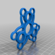 Download free 3D printing templates AMF Micky Mouse style spinner, dancingchicken