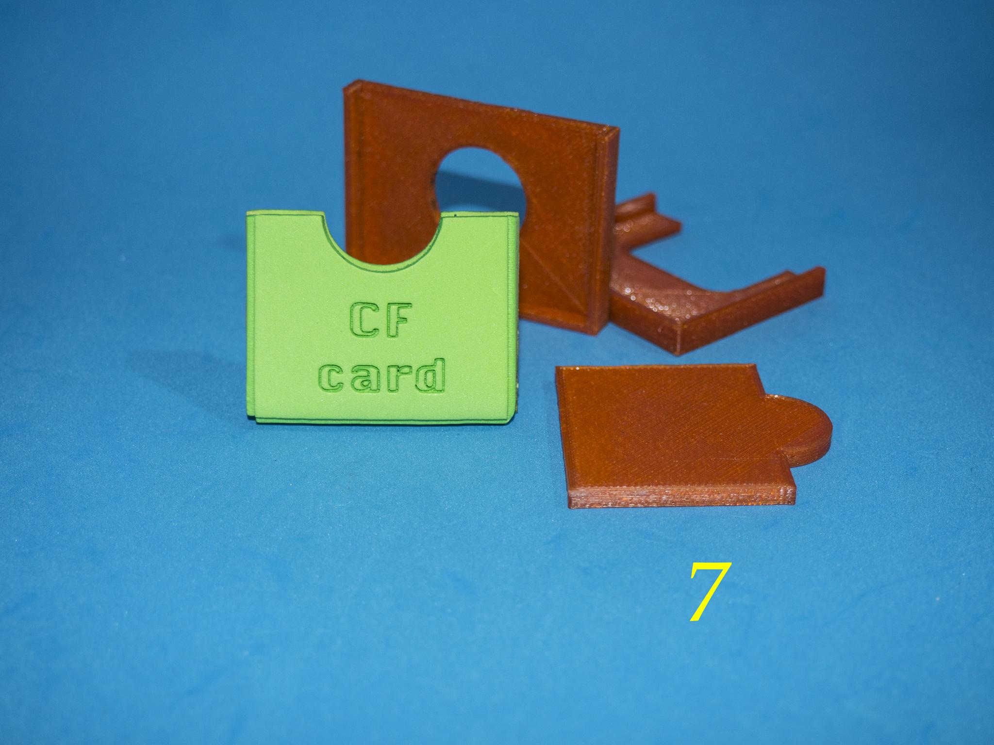8.jpg Download free STL file Lasercut EVA foam CF Card sleeve + gluing jig • 3D printing template, dancingchicken