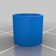 Download free 3D printer designs Super simple Button Caps Anet A8, dancingchicken